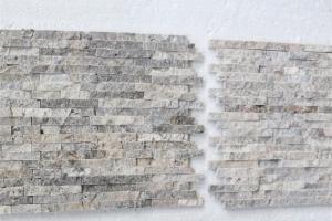 Silver Traverten Patlatma Mozaik
