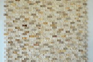 3'lü Mix Traverten Patlatma Mozaik